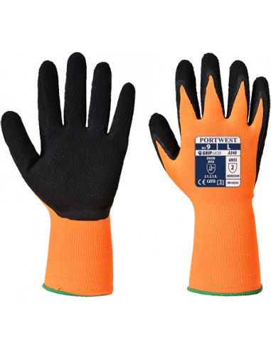 Hi-Vis Grip Glove - Latex