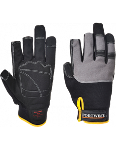 L by Portwest Portwest Leather Lined Driver Work Glove Warmth /& Comfort Safety Workwear A271
