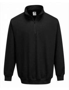 Sorrento Zip Neck Sweatshirt