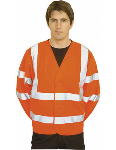 Hi-Vis Two Band & Brace Jacket