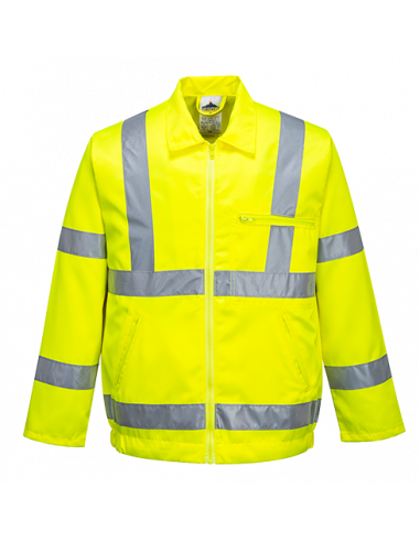 Hi-Vis Poly-cotton Jacket