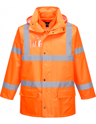 Hi-Vis Essential 5-in-1 Jacket