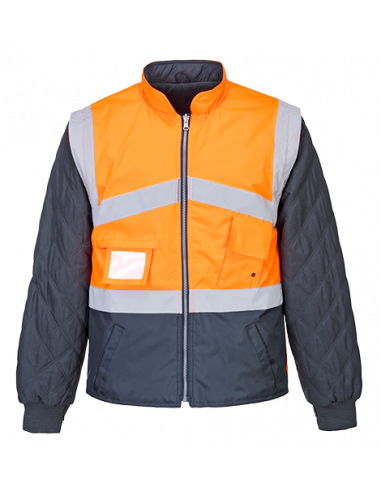 Hi-Vis 2-Tone Jacket - Reversible