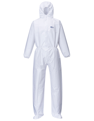 BizTex Microporous Coverall with Boot...